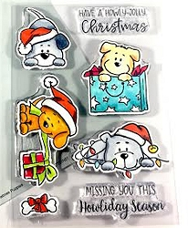 Gerda Steiner - Clear Stamps - Christmas Puppies