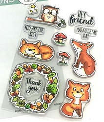 Gerda Steiner - Clear Stamps - Foxes