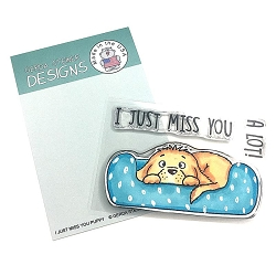 Gerda Steiner - Clear Stamps - I Just Miss You Puppy