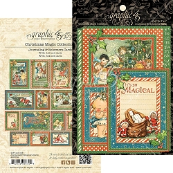 Graphic 45 - Christmas Magic Collection - Ephemera Cards