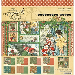 Graphic 45 - Christmas Magic Collection - 12x12 Collection Pack
