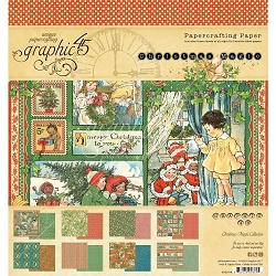 Graphic 45 - Christmas Magic Collection - 8x8 Paper Pad