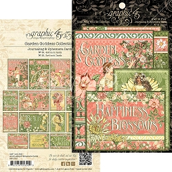 Graphic 45 - Garden Goddess Collection - Ephemera Cards