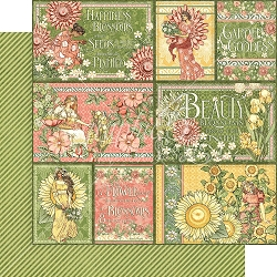 Graphic 45 - Garden Goddess Collection - 12