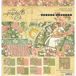 Graphic 45 - Garden Goddess Collection - 12x12 Collection Pack