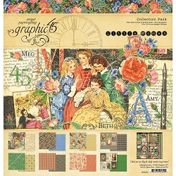 Graphic 45 - Little Women Collection - Collection Pack