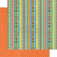 Graphic 45 - Bohemian Bazaar Collection - 12x12 Double Sided Paper - Dazziling Delights