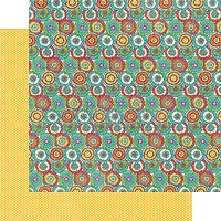 Graphic 45 - Bohemian Bazaar Collection - 12x12 Double Sided Paper - Kaleidoscope