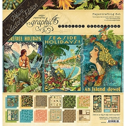 Graphic 45 - Deluxe Collector's Edition - Tropical Travelogue