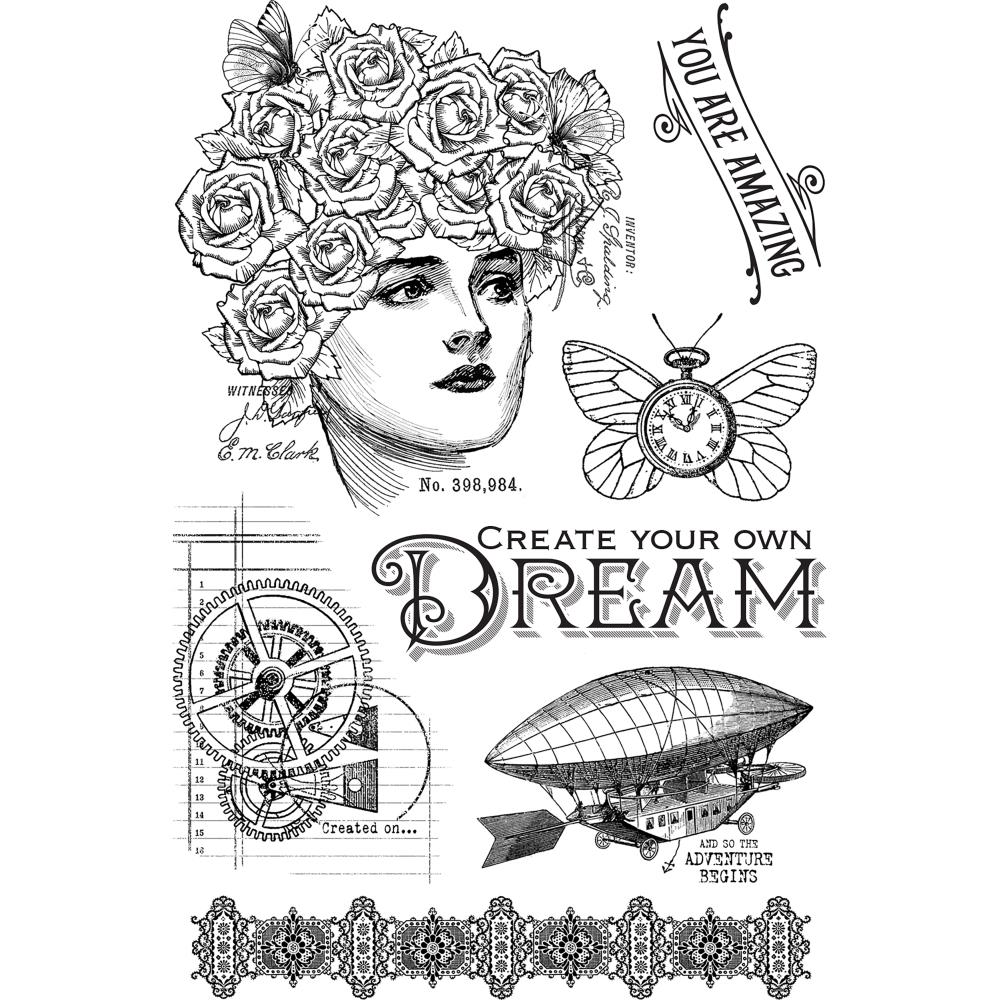Rubber and Clear Stamps