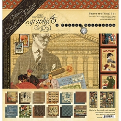 Graphic 45 - Deluxe Collector's Edition - A Proper Gentleman