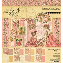 Graphic 45 - Princess Collection - 8x8 Paper Pad