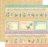 Graphic 45 - Sweet Sentiments Collection - 12
