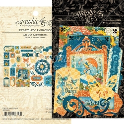 Graphic 45 - Dreamland Collection - Ephemera Die Cuts