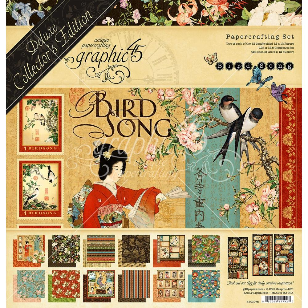 Graphic 45 - Bird Song Collector's Edition