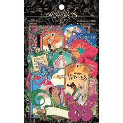 Graphic 45 - Fashion Forward Collection - Ephemera Die Cuts