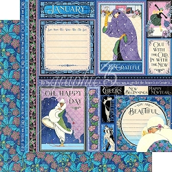Graphic 45 - Fashion Forward Collection - January 12
