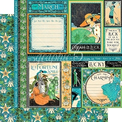 Graphic 45 - Fashion Forward Collection - March 12
