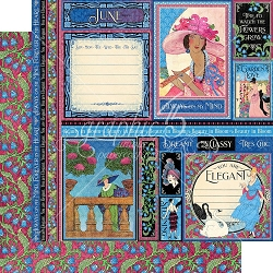 Graphic 45 - Fashion Forward Collection - June 12