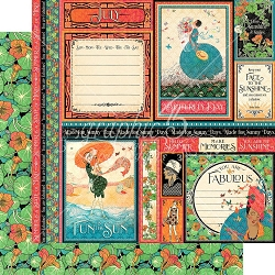 Graphic 45 - Fashion Forward Collection - July 12