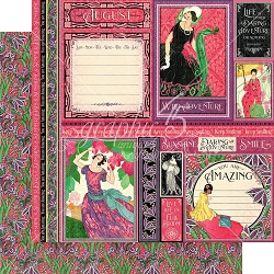 Graphic 45 - Fashion Forward Collection - August 12
