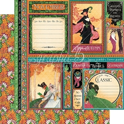 Graphic 45 - Fashion Forward Collection - November 12