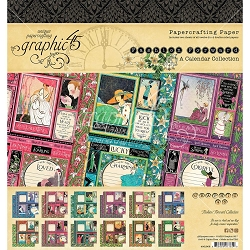 Graphic 45 - Fashion Forward Collection - 8x8 Paper Pad