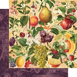 Graphic 45 - Fruit & Flora Collection - Nature's Bounty 12