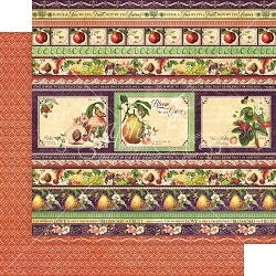Graphic 45 - Fruit & Flora Collection - Fabulous Fruit 12