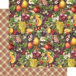 Graphic 45 - Fruit & Flora Collection - Abundant Harvest 12