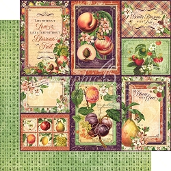 Graphic 45 - Fruit & Flora Collection - Orchard Fresh 12
