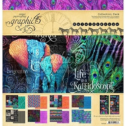 Graphic 45 - Kaleidoscope Collection - 12x12 Collection Pack
