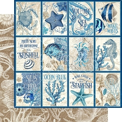 Graphic 45 - Ocean Blue Collection - Cozumel 12
