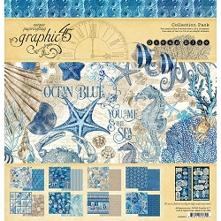 Graphic 45 - Ocean Blue Collection - 12x12 Collection Pack