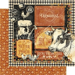 Graphic 45 - Farmhouse Collection - Farmhouse 12