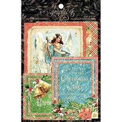 Graphic 45 - Joy To The World Collection - Ephemera Cards