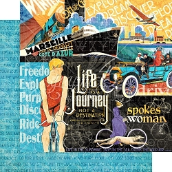 Graphic 45 - Life's A Journey Collection - Life's A Journey 12