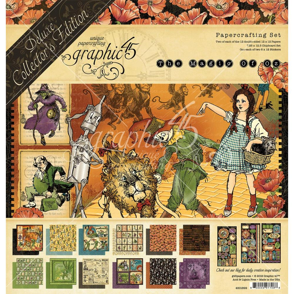 Graphic 45 - Magic of Oz Collector's Edition