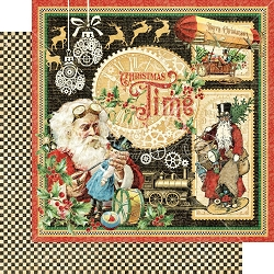 Graphic 45 - Christmas Time Collection - Christmas Time 12