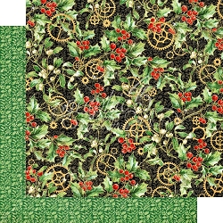Graphic 45 - Christmas Time Collection - Holly & Mistletoe 12