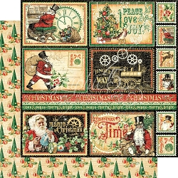 Graphic 45 - Christmas Time Collection - North Pole Express 12