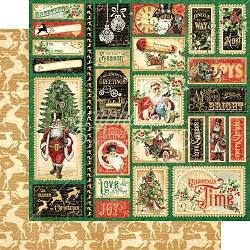 Graphic 45 - Christmas Time Collection - Jingle All The Way 12