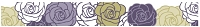 Hampton Arts - Studio G - Decorative Tape (15mm x 5m) - Roses