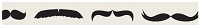 Hampton Arts - Studio G - Decorative Tape (15mm x 5m) - Mustaches