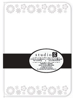 Hampton Arts - Studio G - Embossed Cards & Envelopes pack - E