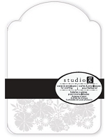 Hampton Arts - Studio G - Embossed Cards & Envelopes pack - F