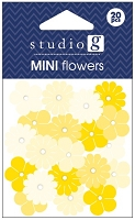 Hampton Arts - Studio G - Mini Flowers - Yellow