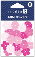 Hampton Arts - Studio G - Mini Flowers - Pink