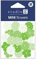 Hampton Arts - Studio G - Mini Flowers - Green