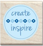 Hampton Arts - Studio G - Wood Mounted Stamp - Create Inspire